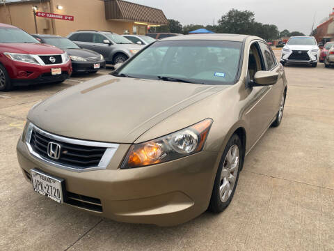 2008 Honda Accord for sale at Houston Auto Gallery in Katy TX