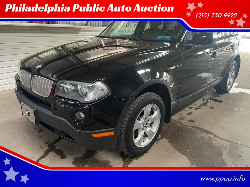 2007 BMW X3 for sale at Philadelphia Public Auto Auction in Philadelphia PA