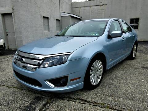2010 Ford Fusion Hybrid for sale at New Concept Auto Exchange in Glenolden PA