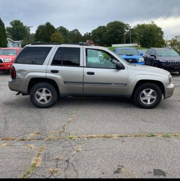 2002 Chevrolet TrailBlazer for sale at Berkshire County Auto Repair and Sales in Pittsfield MA