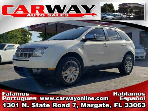 2008 Lincoln MKX for sale at CARWAY Auto Sales in Margate FL