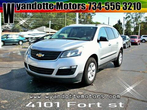 2013 Chevrolet Traverse for sale at Wyandotte Motors in Wyandotte MI