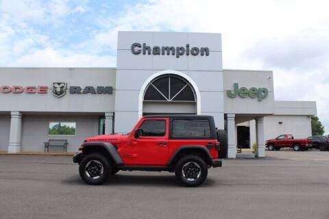 2018 Jeep Wrangler for sale at Champion Chevrolet in Athens AL
