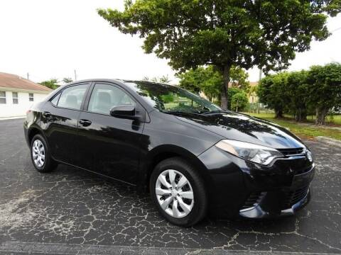 2015 Toyota Corolla for sale at SUPER DEAL MOTORS 441 in Hollywood FL
