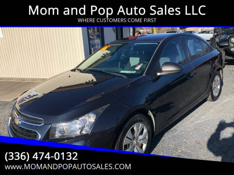 2016 Chevrolet Cruze Limited for sale at Mom and Pop Auto Sales LLC in Thomasville NC
