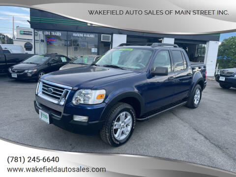 2007 Ford Explorer Sport Trac for sale at Wakefield Auto Sales of Main Street Inc. in Wakefield MA