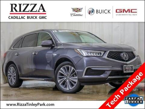2017 Acura MDX for sale at Rizza Buick GMC Cadillac in Tinley Park IL