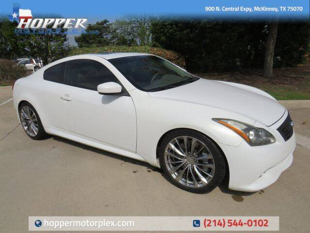 2012 Infiniti G37 Coupe for sale in Mckinney, TX