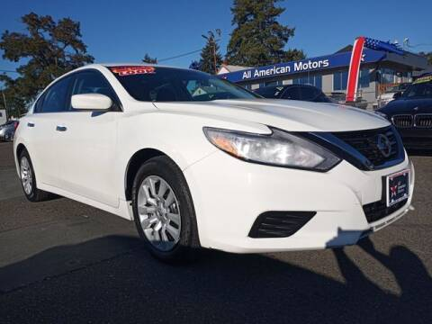 2017 Nissan Altima for sale at All American Motors in Tacoma WA