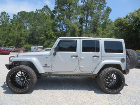 2012 Jeep Wrangler Unlimited for sale at Ward's Motorsports in Pensacola FL