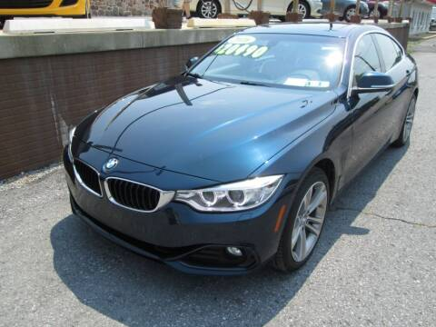 2016 BMW 4 Series for sale at WORKMAN AUTO INC in Pleasant Gap PA