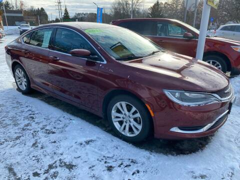 2015 Chrysler 200 for sale at Sunrise Auto Sales in Stacy MN