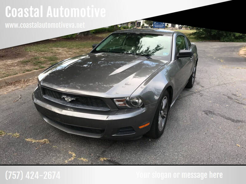 2010 Ford Mustang for sale at Coastal Automotive in Virginia Beach VA
