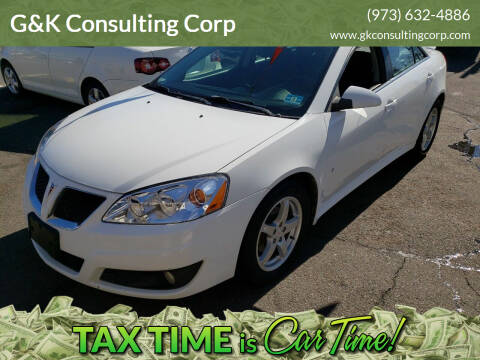 2009 Pontiac G6 for sale at G&K Consulting Corp in Fair Lawn NJ