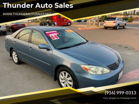 2004 Toyota Camry for sale at Thunder Auto Sales in Sacramento CA