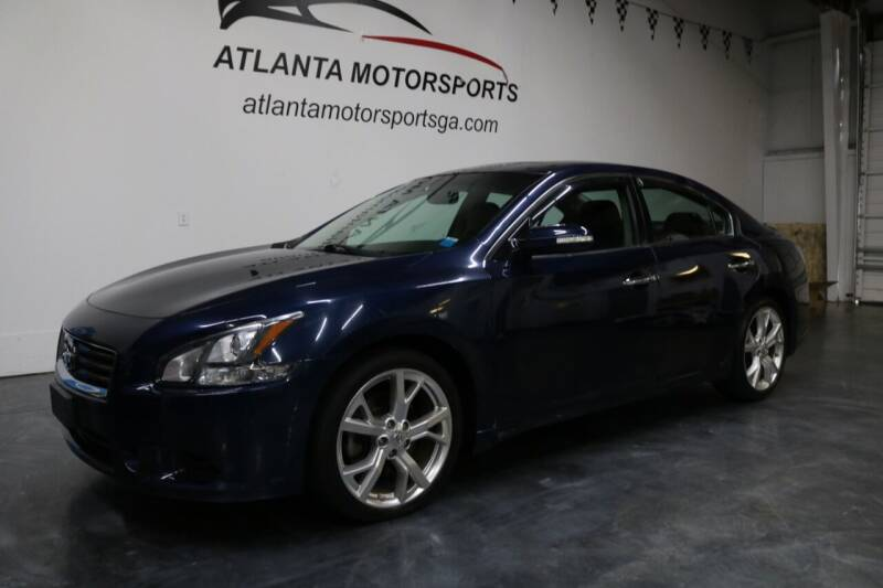 2012 Nissan Maxima for sale at Atlanta Motorsports in Roswell GA