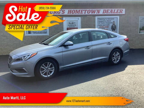 2017 Hyundai Sonata for sale at Auto Martt, LLC in Harrodsburg KY