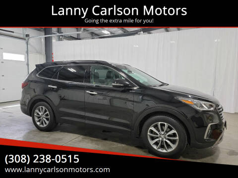 2017 Hyundai Santa Fe for sale at Lanny Carlson Motors in Kearney NE