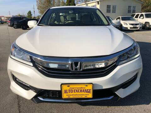 2016 Honda Accord for sale at East Carolina Auto Exchange in Greenville NC