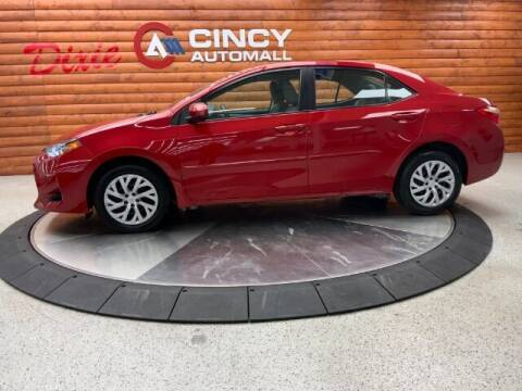 2018 Toyota Corolla for sale at Dixie Motors in Fairfield OH
