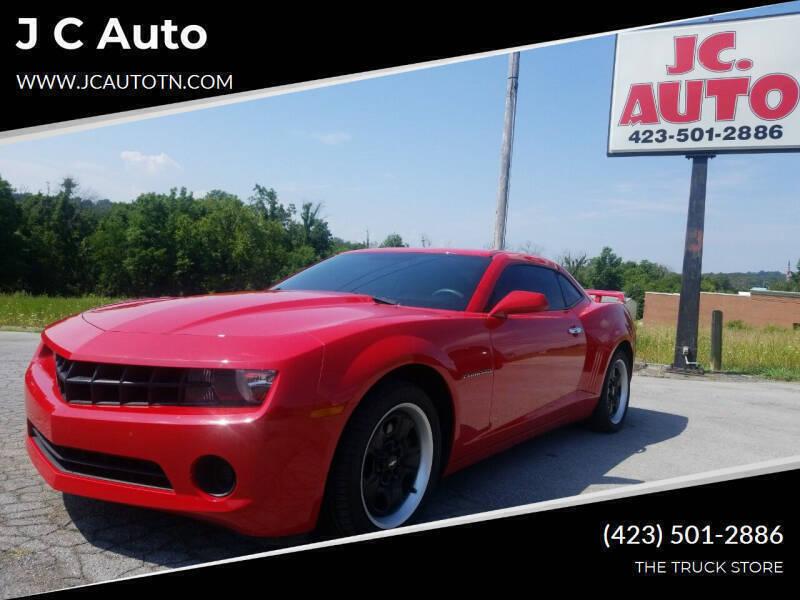 2013 Chevrolet Camaro for sale at J C Auto in Johnson City TN