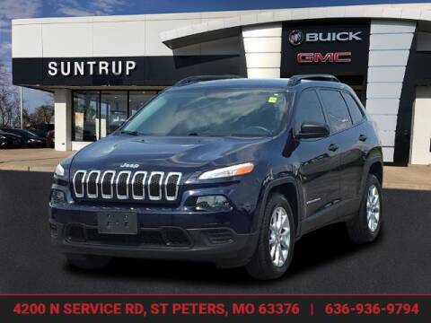 2016 Jeep Cherokee for sale at SUNTRUP BUICK GMC in Saint Peters MO