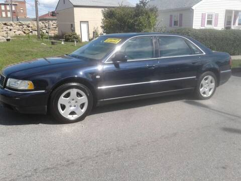 2003 Audi A8 L for sale at Nelsons Auto Specialists in New Bedford MA