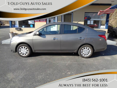 2013 Nissan Versa for sale at 3 Old Guys Auto Sales in Newburgh NY