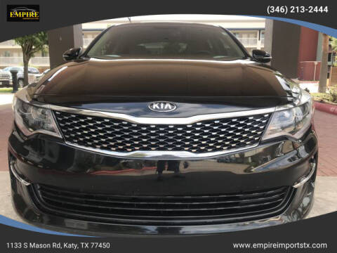 2018 Kia Optima for sale at EMPIREIMPORTSTX.COM in Katy TX