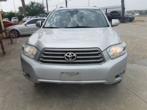 2010 Toyota Highlander for sale at N & A Metro Motors in Dallas TX