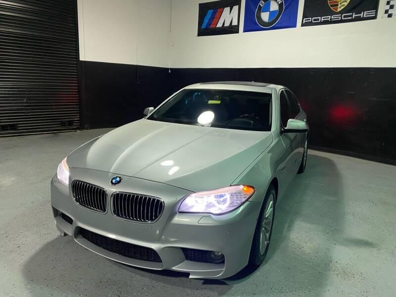 2011 BMW 5 Series for sale at LG Auto Sales in Rancho Cordova CA