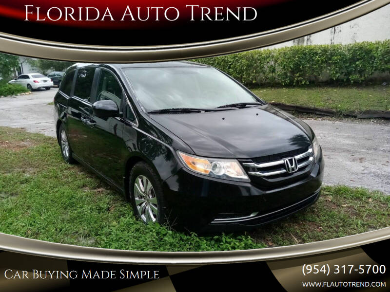 2014 Honda Odyssey for sale at Florida Auto Trend in Plantation FL