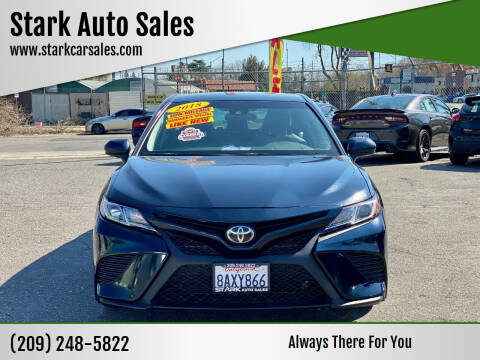 2018 Toyota Camry for sale at Stark Auto Sales in Modesto CA