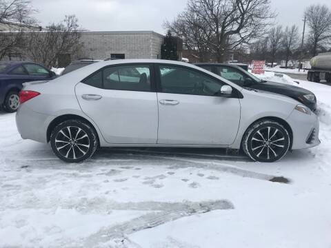 2017 Toyota Corolla for sale at Renaissance Auto Network in Warrensville Heights OH
