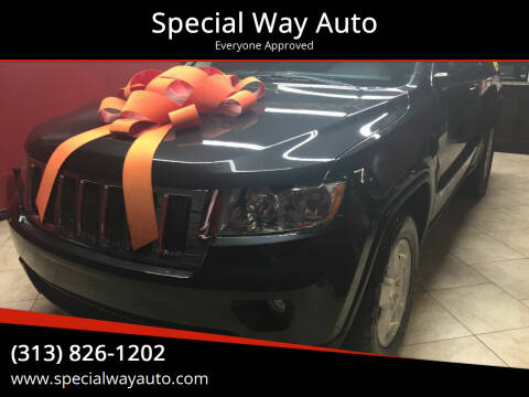 2011 Jeep Grand Cherokee for sale at Special Way Auto in Hamtramck MI