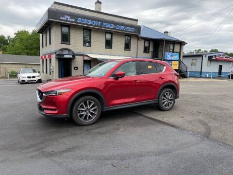2017 Mazda CX-5 for sale at Sisson Pre-Owned in Uniontown PA
