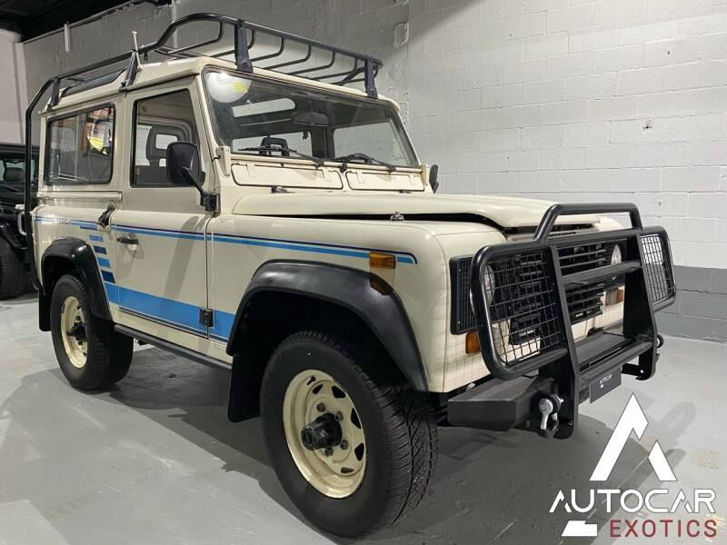 1989 Land Rover Defender for sale at AutoCar Exotics in Medley FL