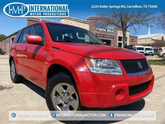 2008 Suzuki Grand Vitara for sale at International Motor Productions in Carrollton TX