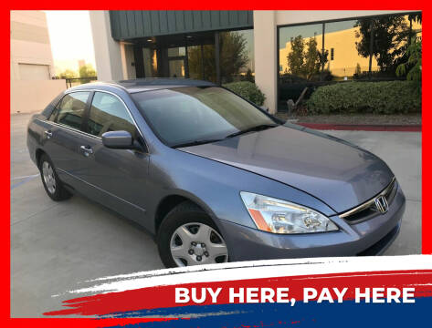2007 Honda Accord for sale at Cruise Autos in Corona CA