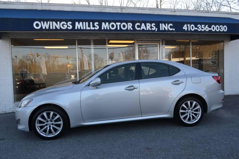 2008 Lexus IS 250 for sale at Owings Mills Motor Cars in Owings Mills MD