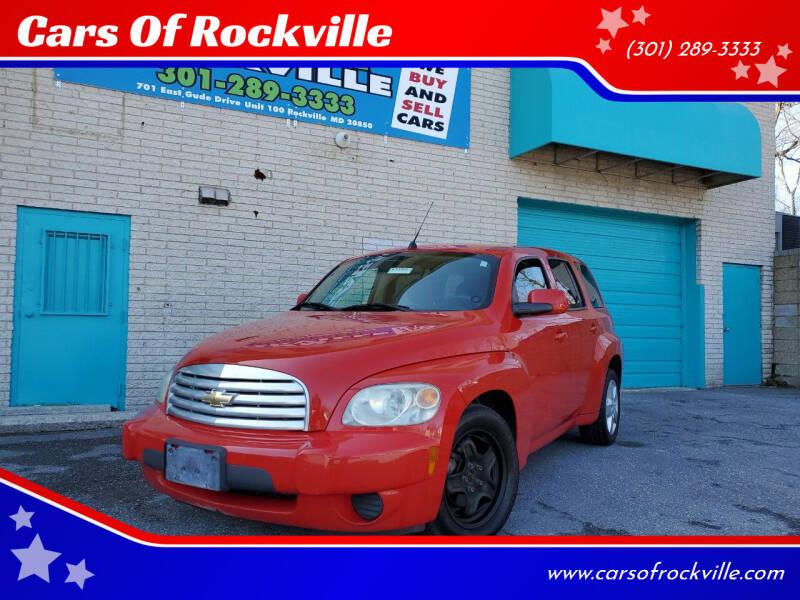 2011 Chevrolet HHR for sale at Cars Of Rockville in Rockville MD