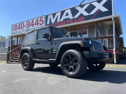 2009 Jeep Wrangler for sale at Maxx Autos Plus in Puyallup WA