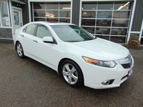 2012 Acura TSX for sale at Akron Auto Sales in Akron OH