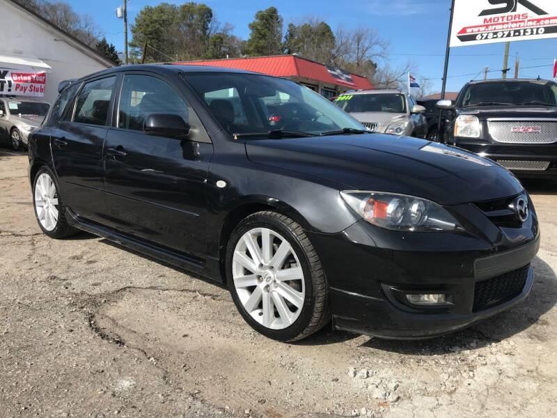 2009 Mazda MAZDASPEED3 for sale at SR Motors Inc in Gainesville GA