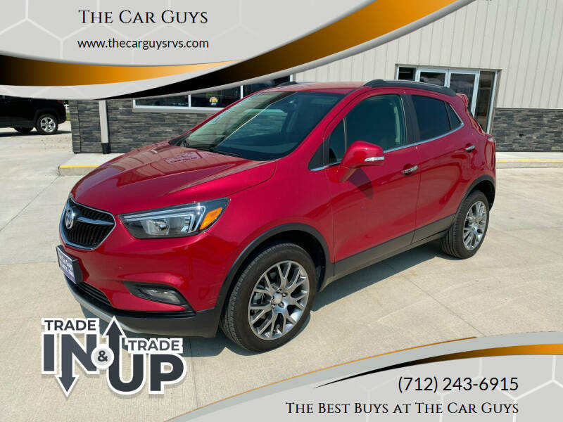 2017 Buick Encore for sale at The Car Guys RV & Auto in Atlantic IA