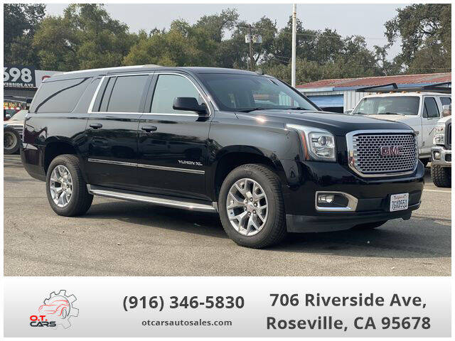 2015 GMC Yukon XL for sale at OT CARS AUTO SALES in Roseville CA