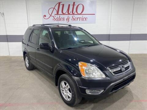2002 Honda CR-V for sale at Auto Sales & Service Wholesale in Indianapolis IN