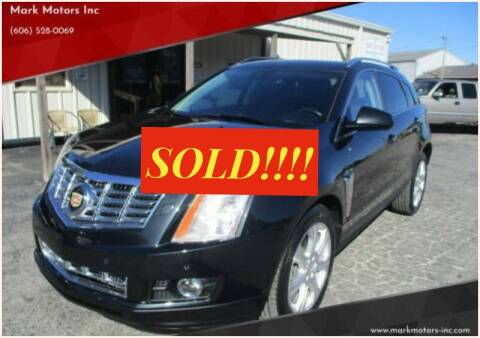 2013 Cadillac SRX for sale at Mark Motors Inc in Gray KY