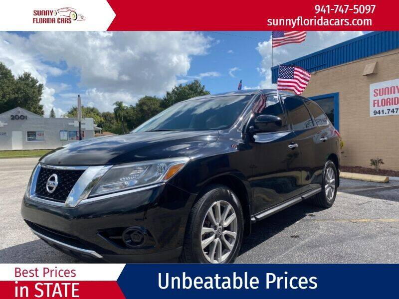 2014 Nissan Pathfinder for sale at Sunny Florida Cars in Bradenton FL