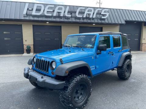2010 Jeep Wrangler Unlimited for sale at I-Deal Cars in Harrisburg PA
